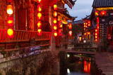 City of Lijiang  UNESCO World Heritage Site  Yunnan  China  Asia
