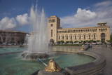 Republic Square  Yerevan  Armenia  Central Asia  Asia