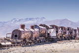 Train Cemetery (Cementerio De Trenes)  an Abandoned Train