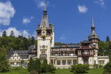 Peles Castle  Sinaia  Wallachia  Romania  Europe
