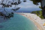 Bol  Ziatni Rat Beach  Brac Island  Dalmatian Coast  Croatia  Europe