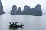 Halong (Ha Long) Bay  UNESCO World Heritage Site  Vietnam  Indochina  Southeast Asia  Asia