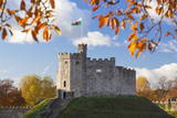 Norman Keep  Cardiff Castle  Cardiff  Wales  United Kingdom  Europe