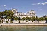 Hotel De Ville on the Banks of the River Seine  Paris  France  Europe