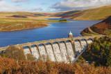Craig Goch Dam  Elan Valley  Powys  Mid Wales  United Kingdom  Europe