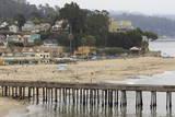 Wharf  Capitola  Santa Cruz County  California  United States of America  North America