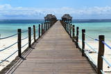 Hotel Jetty  Bwejuu Beach  Zanzibar  Tanzania  Indian Ocean  East Africa  Africa