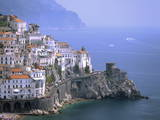 Amalfi Coast  UNESCO World Heritage Site  Campania  Italy  Mediterranean  Europe