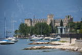 The Castle at Torre Del Benaco  Lake Garda  Italian Lakes  Veneto  Italy  Europe