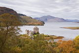 Eilean Donan Castle and the Waters of Loch Duich  Highlands  Scotland  United Kingdom  Europe