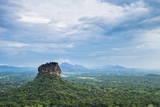 Sigiriya Rock Fortress  UNESCO World Heritage Site  Seen from Pidurangala Rock  Sri Lanka  Asia