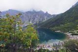 Lake Morskie Oko (Eye of the Sea)  Zakopane  Carpathian Mountains  Poland  Europe