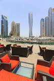 Cayan Tower in Dubai Marina  Dubai  United Arab Emirates  Middle East
