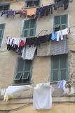 Hanging Laundry  Ventimiglia  Medieval  Old Town  Liguria  Imperia Province  Italy  Europe