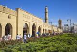Shar Park and Qaysari Bazaar  Erbil  Kurdistan  Iraq  Middle East