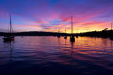 Spectacular Sunset  Falmouth Harbour  Cornwall  England  United Kingdom  Europe