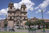 Company of Jesus Church  Plaza De Armas  Cuzco  Peru  South America