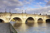 Pont Neuf Bridge on the River Seine  Paris  Ile De France  France  Europe