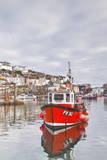 The Small Fishing Village of Mevagissey in Cornwall  England  United Kingdom  Europe