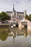 Notre Dame D'Amiens Cathedral  UNESCO World Heritage Site  Amiens  Somme  Picardy  France  Europe