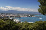 View over Town and Bay from Phare D'Antibes