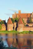 Medieval Malbork Castle