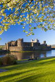 Caerphilly Castle  Gwent  Wales  United Kingdom  Europe