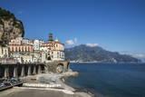 Atrani  Amalfi Peninsula  Amalfi Coast  UNESCO World Heritage Site  Campania