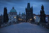 Charles Bridge  Prague  UNESCO World Heritage Site  Czech Republic  Europe
