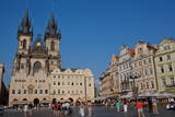 Old Town Square  UNESCO World Heritage Site  Prague  Czech Republic  Europe