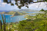 View of English Harbour from Shirley Heights