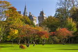 Cardiff Castle  Bute Park  Cardiff  Wales  United Kingdom  Europe