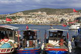 Fishing Boats in Kusadasi  Aydin Province  Anatolia  Turkey  Asia Minor  Eurasia