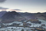 A Frosty Morning over Loweswater Fell in the Lake District National Park