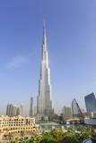 Burj Khalifa  Downtown  Dubai  United Arab Emirates  Middle East