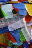 Colourful Prayer Flags  Lhasa  Tibet  China  Asia