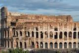 The Colosseum  UNESCO World Heritage Site  Rome  Lazio  Italy  Europe