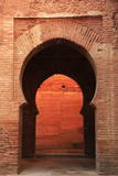 An Archway Inside the Alhambra  UNESCO World Heritage Site  Granada  Andalusia  Spain  Europe