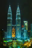 Petronas Twin Towers  Kuala Lumpur  Malaysia  Southeast Asia  Asia