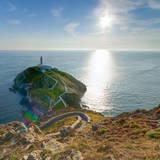 South Stack Lighthouse  Holy Island  Anglesey  Gwynedd  Wales  United Kingdom  Europe