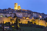 View at Night  Saint-Paul-De-Vence  Provence-Alpes-Cote D'Azur  Provence  France  Europe