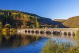 Carreg Ddu Viaduct and Reservoir  Elan Valley  Powys  Mid Wales  United Kingdom  Europe