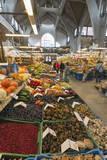 Hala Targowa Market Hall  Wroclaw  Silesia  Poland  Europe