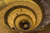 Spiral Stairs of the Vatican Museums  Designed by Giuseppe Momo in 1932  Rome  Lazio  Italy  Europe