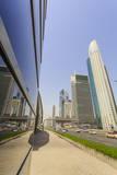 Sheikh Zayed Road  Dubai  United Arab Emirates  Middle East