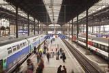 A Busy Basel Sbb Railway Station  Basel  Switzerland  Europe