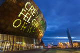 Millennium Centre  Cardiff Bay  Cardiff  Wales  United Kingdom  Europe