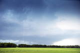 Cloud to Ground Lightning Flash or Strike  Oklahoma  United States of America  North America