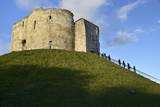 Cliffords Tower  York Castle Keep  York  Yorkshire  England  United Kingdom  Europe