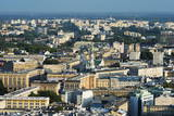City View from Palace of Culture and Science  Warsaw  Poland  Europe
